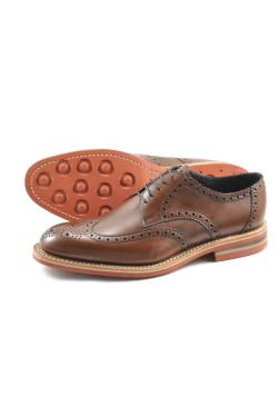 LOAKE REDGRAVE SHOES IN BROWN