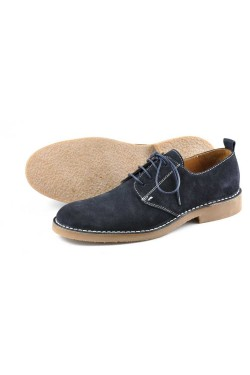 LOAKE MOJAVE Desert Shoes NAVY SUEDE