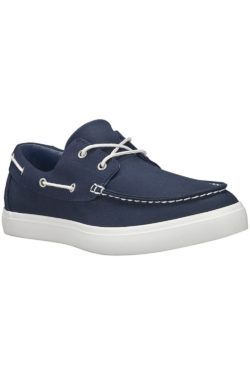TIMBERLAND UNION WHARF 2 EYE BOAT SHOES BLACK IRIS NAVY