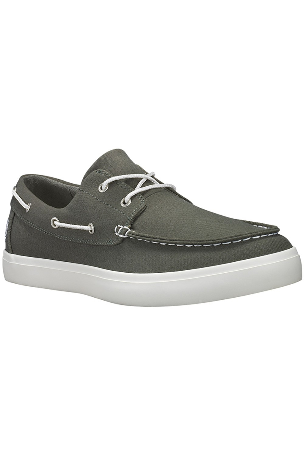 Elevado Collar relajado  TIMBERLAND UNION WHARF 2 EYE BOAT SHOES GRAPE LEAF GREEN | Riva Menswear