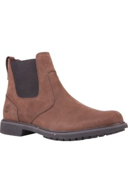 TIMBERLAND STORMBUCKS CHELSEA BOOTS DARK BROWN