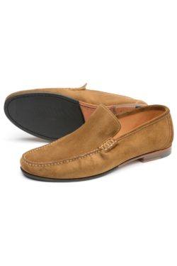 LOAKE NICHOLSON Moccasins LIGHT BROWN SUEDE