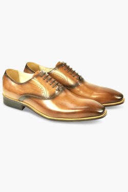 AZOR POMPEI SHOES TAN