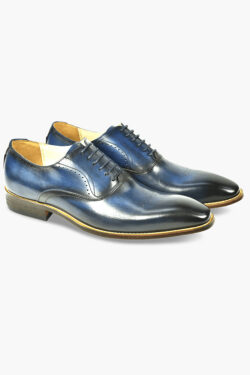 AZOR POMPEI SHOES BLUE