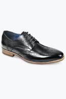 AZOR VENEZIA SHOES BLACK