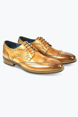 AZOR VENEZIA SHOES TAN