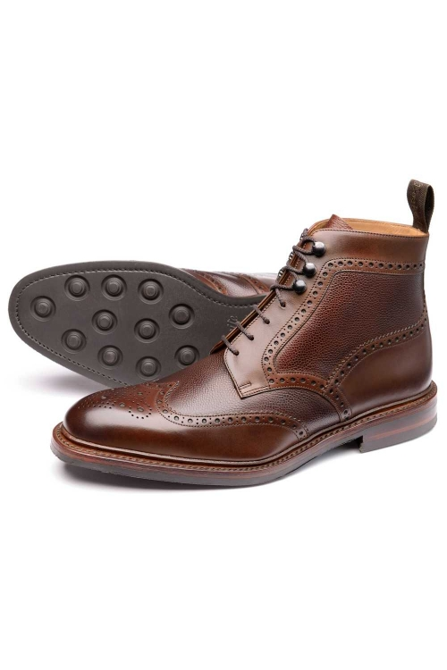 LOAKE BOSWORTH Boots DK BROWN