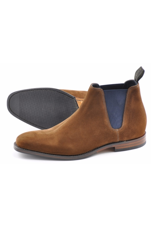 LOAKE CAINE BROWN SUEDE