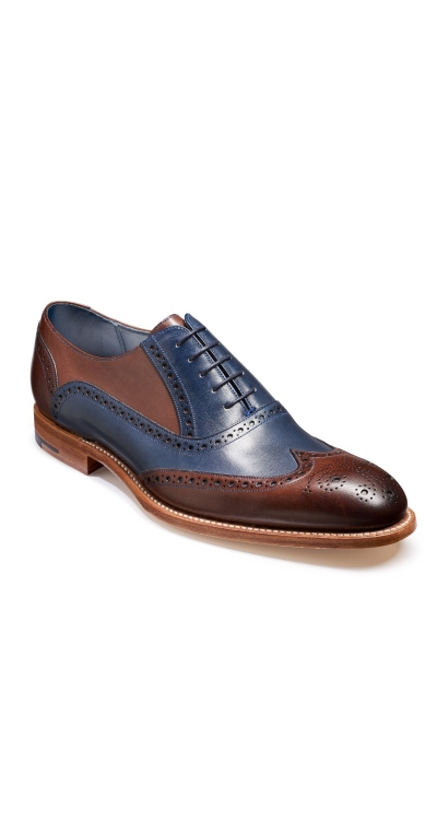 BARKER VALIANT Hand Painted Shoes 4178FW22