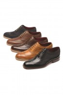 LOAKE FEARNLEY Shoes in DARK BROWN