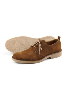 LOAKE MOJAVE Desert Shoes BROWN SUEDE