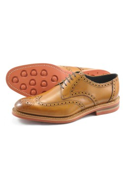 LOAKE REDGRAVE SHOES IN TAN